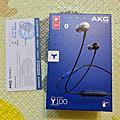 2019.08.26 AKG 藍牙耳機