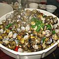 2009東遊記之三 第一夜晚餐 -- 竹陽活海鮮
