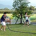 【宜蘭民宿】Sunday Home 孩子們的暑假工作--澆花