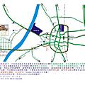 Sunday Home 交通路線圖