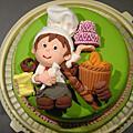 人形公仔蛋糕初級