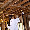 陽光客房 - 油漆與地板