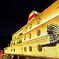 景觀餐廳│主題餐廳│北海岸下午茶‧石門旗艦會館-特色園區『埃及X和昇之星郵輪』