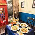 景觀餐廳│主題餐廳│北海岸下午茶‧石門旗艦會館-餐旅休憩『英國包廂』