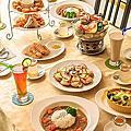 景觀餐廳│主題餐廳│北海岸下午茶‧石門旗艦會館-餐旅休憩『埃及包廂』