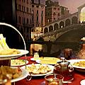 景觀餐廳│主題餐廳│北海岸下午茶‧石門旗艦會館-餐旅休憩『義大利包廂』