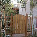 庭院木門施工紀錄