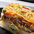 0911素食食譜-押壽司(箱壽司)