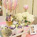 1012 晶宴民權館 熱氣球的幸福旅程婚禮佈置
