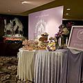 1116 夢幻紫白 婚禮佈置