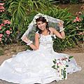 越虎妹妹結婚照片