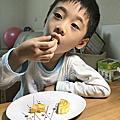 花火_手工奶黃月餅