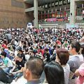 20111013/陸軍第2123梯次常備兵新兵入伍(台北車站)
