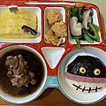 2020/04/18我的造型餐點~哆啦A夢&細菌人飯糰