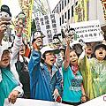 20100611到台灣高院聲援陳總統延押庭