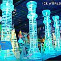 台北。冰花季之戀。冰雕展