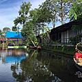 泰國芭達雅-向日葵水上市場