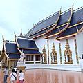 泰北清邁藍廟