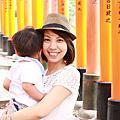 2014日本親子遊‧day1~2 伏見稻禾神社‧錦市場