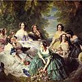 Academic Art: Franz Xavier Winterhalter (1805-1873) 宮廷肖像畫家