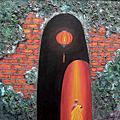 0 沙彌繪畫 越南畫家 Nguyen Minh Phuoc