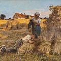 Arcadia: Leon Augustin L'hermitte (1844-1925) 法寫實 ★