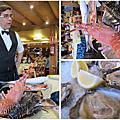 西班牙「巴塞隆那」港灣區海鮮美食