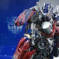 模型作品★Transformer 變形金剛柯博文 ★1/35 Plamo Kit