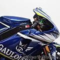 模型作品★YAMAHA YZR-M1 2005 GAULOISES Rossi ★1/12 Plamo Kit