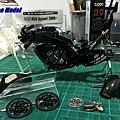 模型製作★YAMAHA YZR-M1 2005 Rossi ★1/12 Plamo Kit