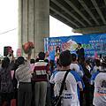 99年4月11日配合中區國稅局臺中縣分局辦理「統一發票推行暨單車稅月健康行租稅宣導活動」