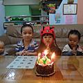 2013年5月1日霓霓4歲生日