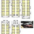 台鐵座位配置圖