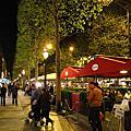 法國巴黎 香榭大道的餐廳--拉爾薩斯