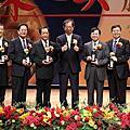 李遠哲先生與得獎人合照