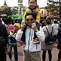 2015-0409-阿拉丁跟阿公去日本迪士尼