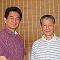 20090821 與內地名書法家陳之泉老師餐會