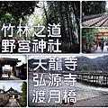 【京都】竹林之道+野宮神社+天龍寺+弘源寺+渡月橋