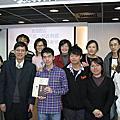 2011.12.25恭喜文禎受洗!