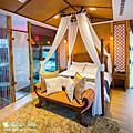 宜蘭民宿♥ 法式時尚結合峇里島風情的水岸楓林民宿