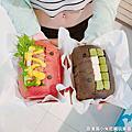 新竹美食.hello.burger巨城快閃店