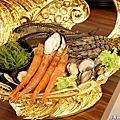 新竹縣竹北美食.金銀島碳烤海鮮魚.鴛鴦鍋