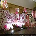 平鎮~茂園和漢美食館婚禮佈置-南瓜馬車婚禮佈置