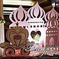 平鎮婚禮佈置~茂園和漢美食館婚禮佈置-銘淇&雅萍(童話城堡風)