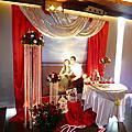桃園婚禮佈置~福珍餐廳婚禮佈置