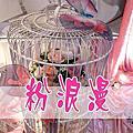 色系主題式婚禮佈置-粉浪漫(粉紅色系)