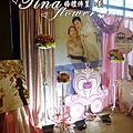 Tina flower婚禮佈置~大園老船長餐廳婚禮佈置~粉色系主題佈置
