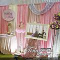 Tina flower婚禮佈置~龜山中油桃園煉油廠活動中心婚禮佈置-粉色系主題佈置