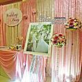 Tina flower婚禮佈置~桃園住都大飯店婚禮佈置-粉紅色系佈置