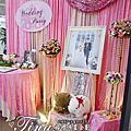 Tina flower婚禮佈置企劃~大園社區活動中心婚禮佈置-粉紅色系佈置